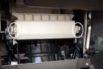 アルト(HA25S) エアコンフィルター 変更前のフィルターカバー